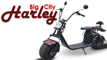 HARLEY ELECTRIC SCOOTER 2019 BIG CITY 3 + CE 1500W 60V 12 AH
