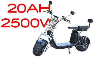 Electric chopper BIG CITY HARLEY 600-4 + NEW 2500W 60V 20AH The biggest motor for the model!